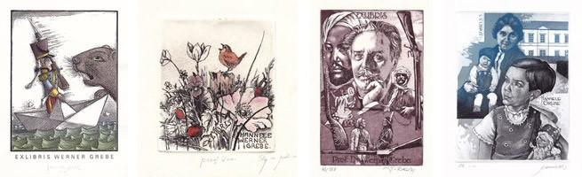 Egbert Herfurth, D - Elly de Koster, NL - Ladislav Rusek, CZ - Hedwig Pauwels, B